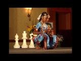 Bharatanatyam by girl, Sahaja Yoga, 2006