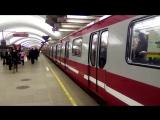 Отправление Юбиленого 2.0 .1 со станции Площадь Мужества