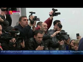 В Армении подвели итоги парламентских выборов — лидирует правящая партия