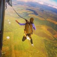 Логотип Прыжки с парашютом в Туле и Москве!!!