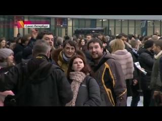 В Санкт-Петербурге 10 тысяч зрителей впервые посетили новый стадион «Зенит-Арена