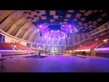 Таймлапс-видео подготовки арены к турниру и установки клетки АСВ
