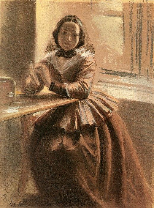 Адольф фон Менцель нем. Adolph Friedrich Erdmann von Menzel 8 декабря 1815 — 9 февраля 1905 Эмилия, сестра Менцеля