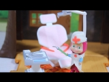 Маша и Медведь  Мультфильм Доктор Маша Набор  Стоматолог Игрушки для детей. Dentist Set