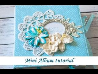 Mini album tutorial for Studio 75, by Ola khomenok