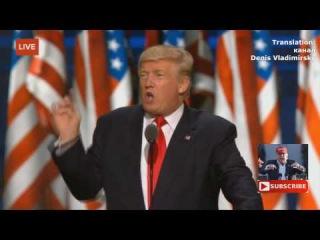 Самая мощная речь Дональда Трампа о последствиях внешней и внутренней политики ...