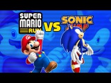 Super Mario Run vs Sonic Jump: The Irony
