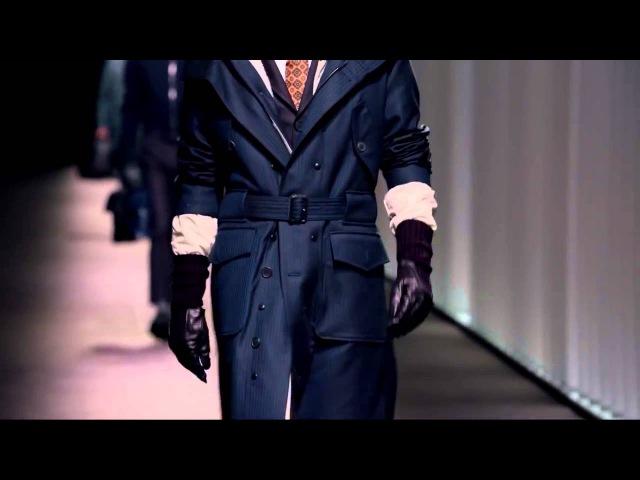 Показ Canali осень-зима 2016-2017 Мужская коллекция