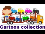 Doctor McWheelie. Car cartoon and animation for kids. Car games. Cartoon collection. Part 7.