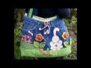 Джинсовые поделки своими руками сумки женские handmade womens bags