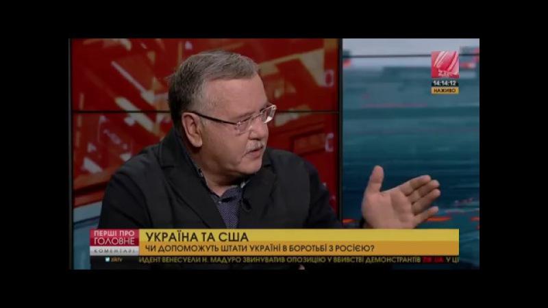 Гриценко: Відносини з Україною не належать до пріоритетних для нової адміністра...