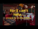 Elvis Presley - Can't Help Falling In Love - Subtitulada en espa