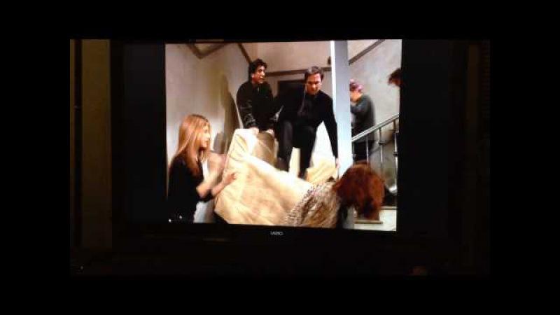 Friends DELETED Scene - PIVOT COUCH