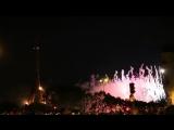 Новогодний Салют 2017丨 Эйфелева башня (Париж)