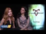 Katherine McNamara  Emeraude Toubia On The Closeness Of The Shadowhunters Cast - Access Hollywood