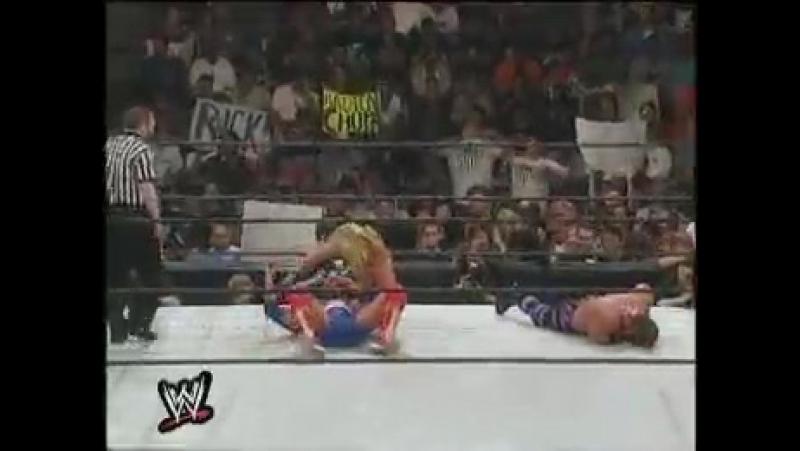 WWF WrestleMania 2000 - Chris Benoit vs. Kurt Angle vs. Chris Jericho (Two-fall Triple threat match for the WWF Intercontinental