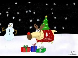 Новогоднее видео с Диоджи ( Закон Майло Мёрфи)