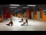 Exotic Pole Dance by Mila (Anastasia Fateeva)