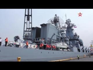 Ракетный крейсер «Варяг» прибыл на Филиппины FILIPPINY_1400-YouTube 16x9