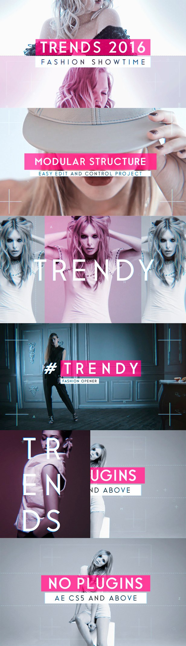 Fashion Promo 18001701 - Free After Effects Template