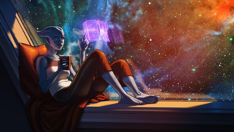 Mass Effect, Liara
