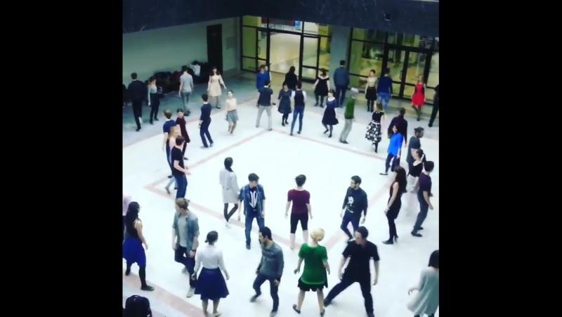 Весенний балл 2017. Репетиция. Ледяное озеро. Прекрасный эльфийский танец.