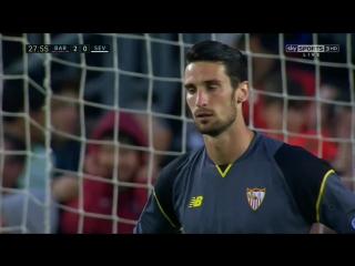 Барселона 2-0 Севилья  Месси