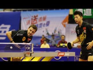 China Open 2013 Highlights: Ma Long/Timo Boll vs Zhang Jike/Adrien Mattenet (1/4 Final)