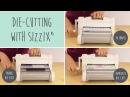 Машинка для эмбоссирования и вырубки Sizzix Big Shot Plus Starter Kit A4