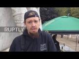 США: Вооруженные активисты про-пушки входят Капитолий Штата Орегона в Салеме.