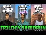 GTA 3D Trilogy Speedrun - GTA III, Vice City, & San Andreas