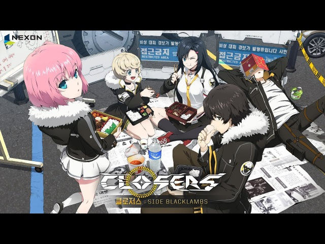 [CamVersion] Closers Anime: SIDE BLACKLAMBS Episode 1 [Eng Sub]