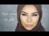 Peach Smoked Out GLAM Tutorial  Habiba Da Silva