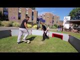 Street Football Panna Skills at Dover College   YO STREET ZONE