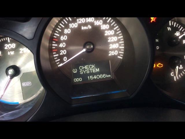 Lexus GS450H у официалов с заявленным пробегом 154.000км