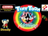 Tiny Toon Adventures Тини Тун каникулы Dendy 8-bit NES Прохождение