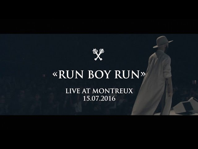 Woodkid - Run Boy Run - Live at Montreux 15.07.2016