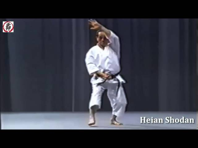 Tetsuhiko Asai - kata karate Shotokan Heian shodan | Тетсухико Асаи - ката Хейан Шодан