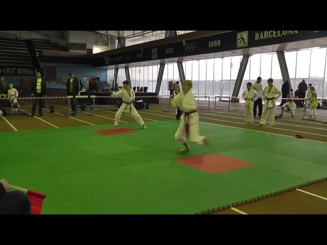 Кубок Хортицы по Каратэномичи Запорожье 16 10 2016 Ката Karatenomichi Kata