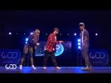 Девушка и 2 парня-Дабстеп-World of Dance-Los Angeles-2015