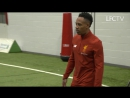 Behind the Scenes | Liverpool stars model the new 2017-18 home kit