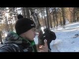 Русский парень решил поиграть в майнкрафт в реальной жизни :DDDDDD