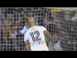 Валенсия - Реал. Гол Дзадзы