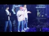 FANCAM 170212 Seventeen (Woozi focus) - Beautiful @ 1st Fanmeeting 'Seventeen In Carat Land' D-3