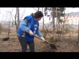 Общеобластной субботник в городском поселении Фряново (8 апреля 2017)