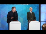'Finish the Lyric' with Ellen, James Corden &amp Jesse Tyler Ferguson RUS SUB
