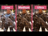 Gears of War 4 – PC Low vs. Medium vs. Ultra Graphics Comparison