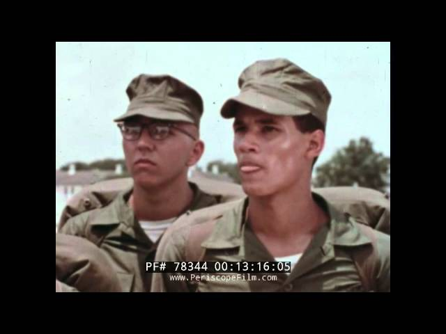 U.S. MARINE CORPS THIS IS PARRIS ISLAND 1960s BOOT CAMP FILM 78344