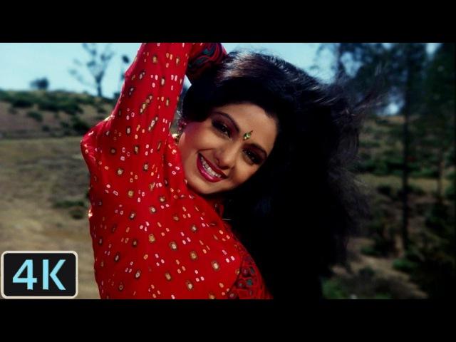 Dil Se Nikal Kar Dil Ko Gayee 4K Video Song   Nigahen   Sridevi, Sunny Deol