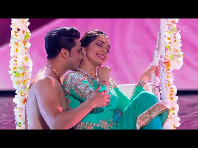 Russia's Got Talent   Bollywood KATHAK dance   Svetlana Tulasi Kumar Sharma   Jag Ghoomeya Sultan